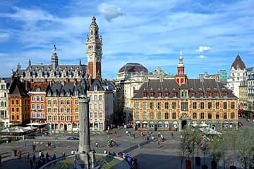 Circuits touristiques et excursions avec chauffeur sur Lille